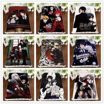Anime Manga Kuroshitsuji Black Butler Ciel Bed Sheet 150*200cm Bedsheet