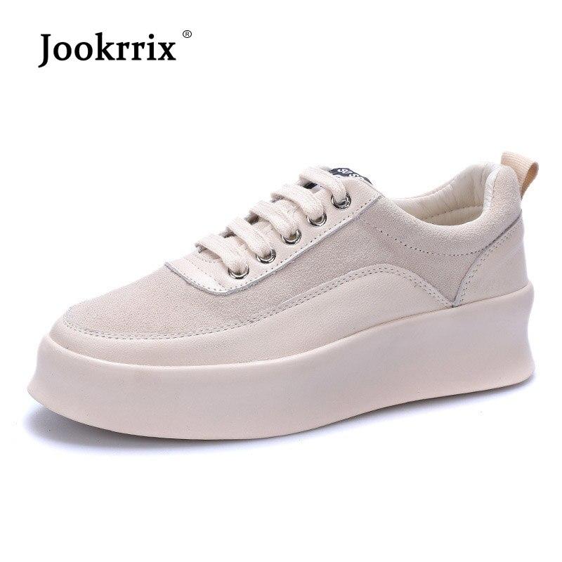 Véritable Lady Automne Marque Femelle Chaussure Plate blanc Croix Noir Cuir  Jookrrix 2018 attaché Sneaker Occasionnel forme Respirant En Femmes  Chaussures ... 0eec42613c77