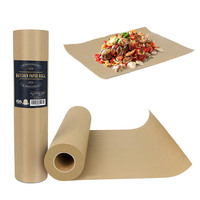 Butcher Kraft Paper Roll Food Grade Acking Paper All natural FDA Approved for BBQ Meats Cooking Paper in Carry Tube