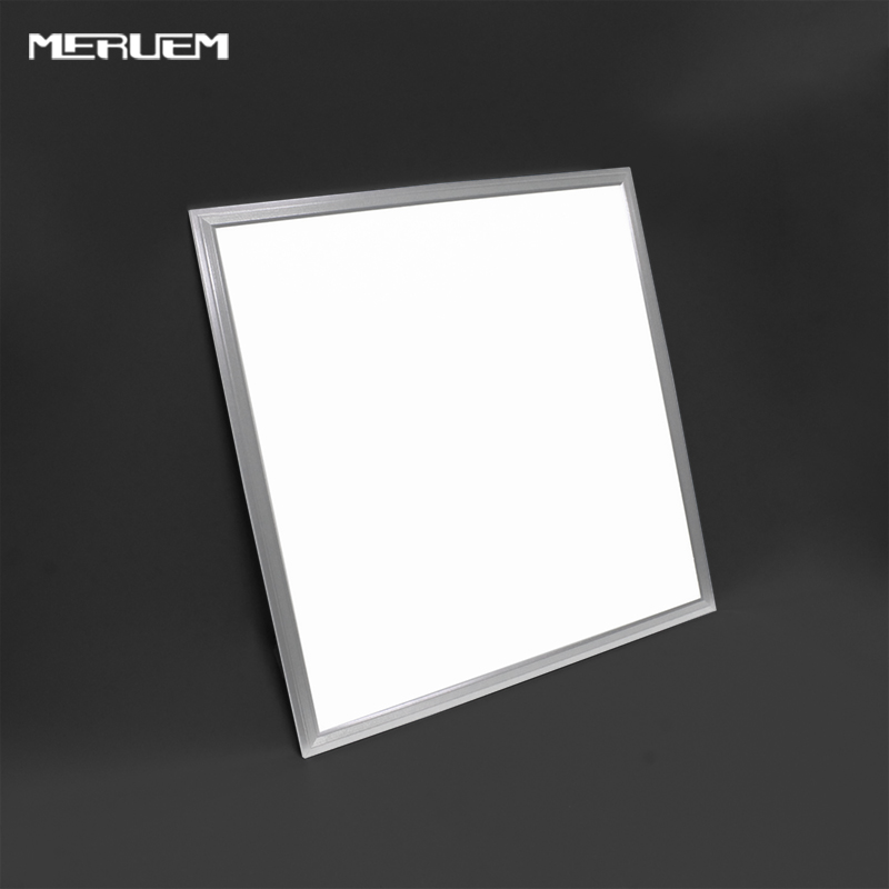Free shipping 4pcs/lot 36W 40W 48W dimmable LED Panel Lights Bright 600X600 Led Panel light Panel Led Light Silver frame цена
