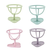 1 PC Baru 4 Warna Makeup Sponge Gourd Powder Puff Rak Telur Powder Puff Bracket Box Dryer Organizer Kecantikan Rak pemegang Alat(China)