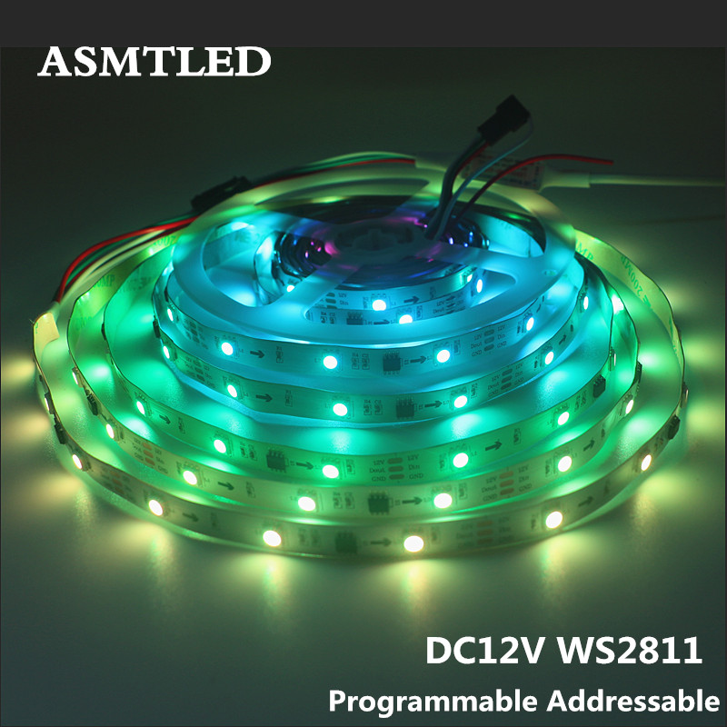 Ws2811 Led Strip Programmable Individually Addressable Rgb