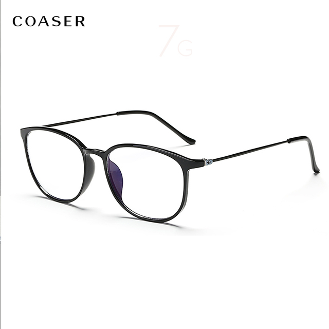 2b059076dce NEW Supper Light Glasses Frame Round Vintage TR90 Optical Retro Designer  suit Prescription Computer Eyeglasses Myopia