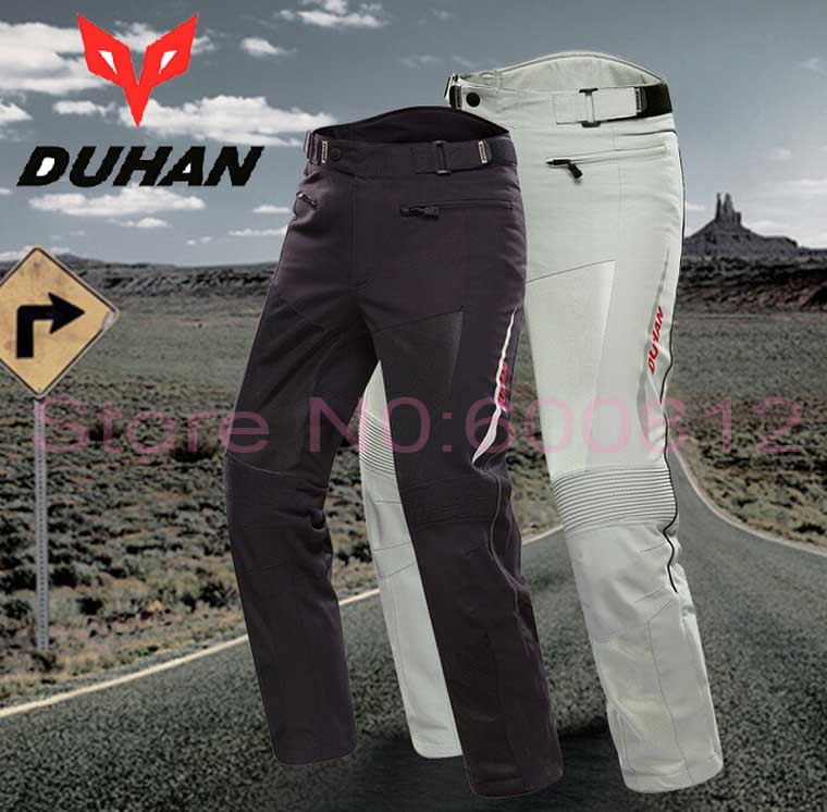 2016 New Men DUHAN Moto Racing suits DK-016 Motorcycle pants Knight riding pant Motobike riding trousers Anti-wrestling 2 colors