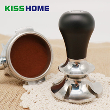 Adjustable Constant Pressure Coffee Tamper 58/58.35mm Barista Stainless Steel Fixed Force Powder Hammer Accessories