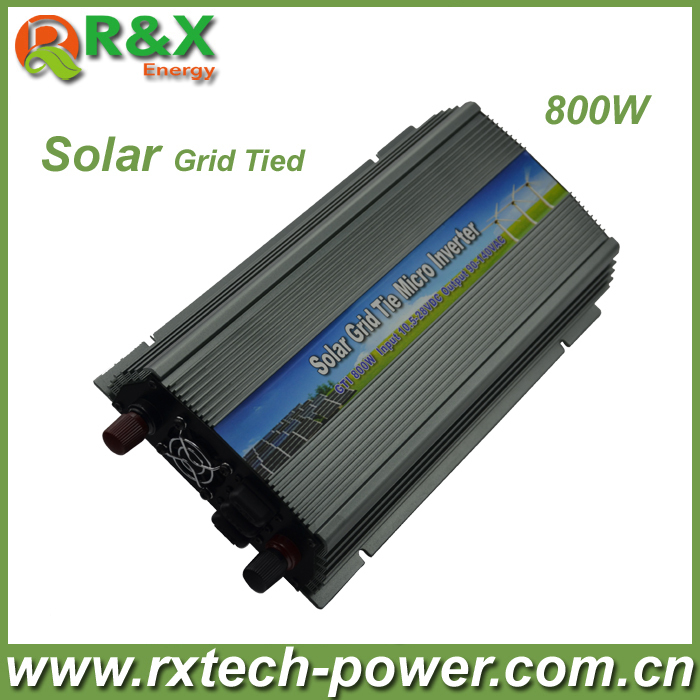 800W (10.5-28VDC) micro PV inverter, on grid, with CE&RoHS approved, Free shipping!