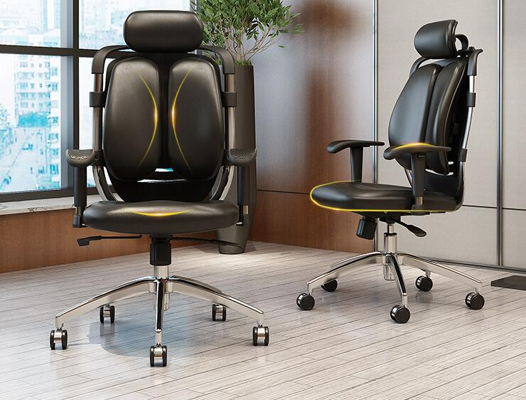 Free shipping home computer chairs. Can lie office chair. Protection of waist and back of a chair/a chair for me free shipping student desks and chairs training desk chair single and double