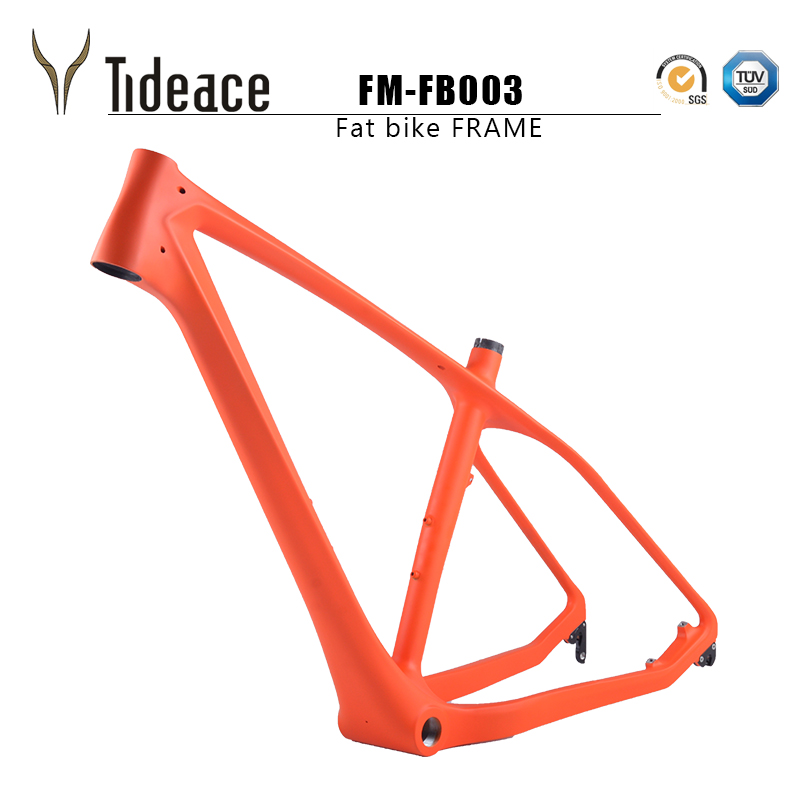 2017 Carbon fat Bike Frame 26er*16/18/20inch Carbon Fat Frame 26 carbon snow bike frame with thru axle shafter 2016 new thru axle qr 26er fat bike full carbon snow frame bsa carbon fat bike frame for fat bike cc cmf 010