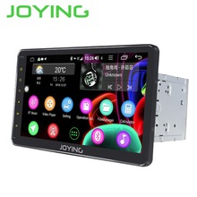 JOYING NEWEST Android 8.1 4GB+32GB Octa Core universal head unit 2 din car radio player support 4G&DSP fast boot GPS stereo wifi