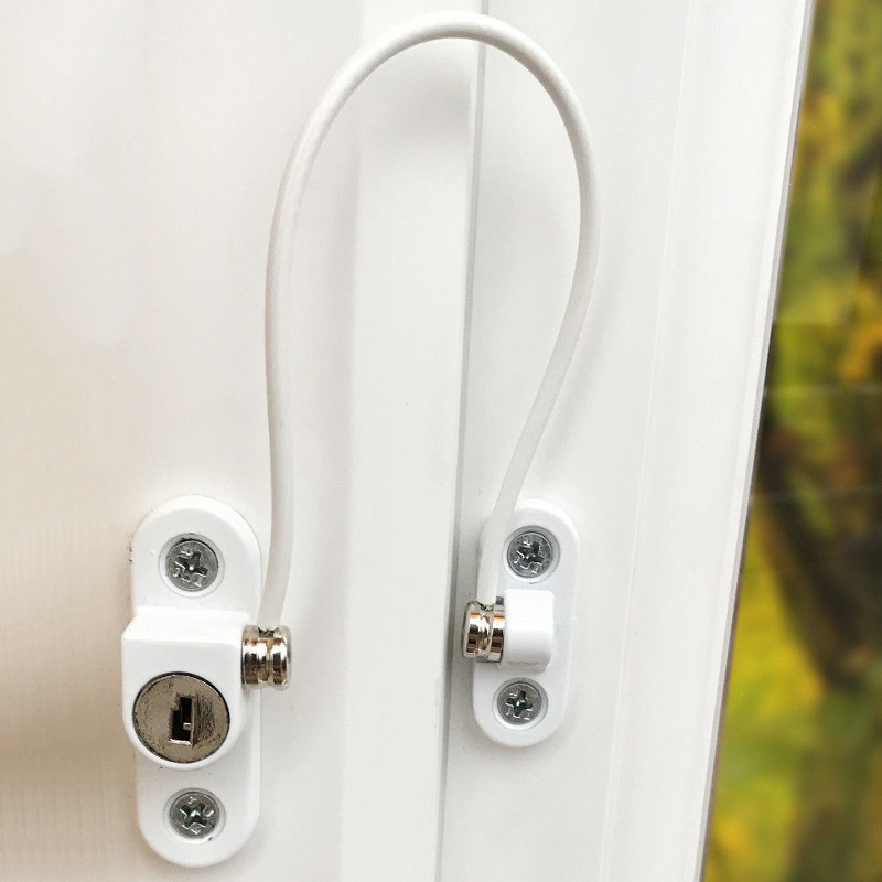 Window Restrictor Security Lock, Anti-kids, Prevent Children from Falling, Anti-theft Window Lock, Home Hardware