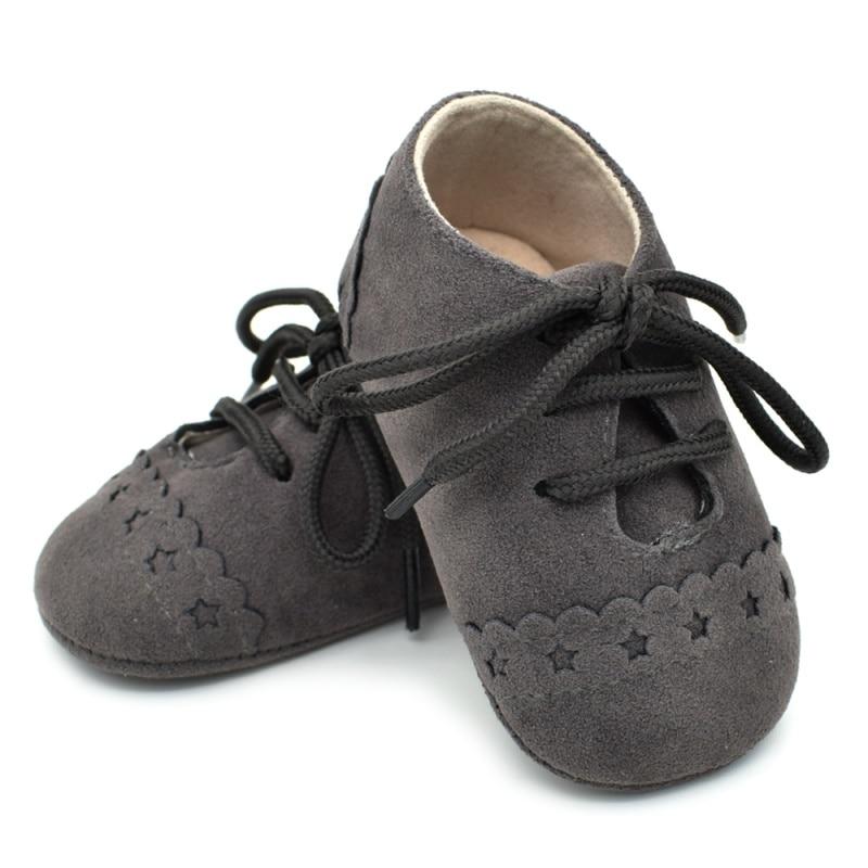 Для маленьких мальчиков девочек Мокасины moccs Обувь для малышей Bebe из искусственной замши на мягкой подошве нескользящая обувь Обувь для младенцев