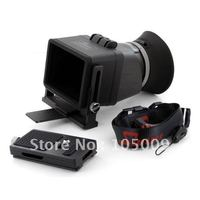 Swivi Foldable 3X LCD Viewfinder Magnification Loupes For 3 Canon 7D 5D2 550D T2i Camera