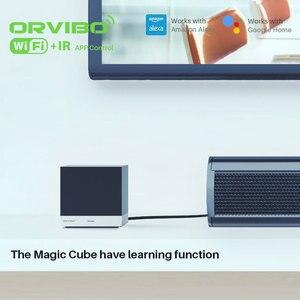 Image 5 - Orvibo sihirli küp evrensel akıllı kontrol öğrenme fonksiyonu ile WiFi IR kablosuz uzaktan kumanda akıllı ev otomasyonu