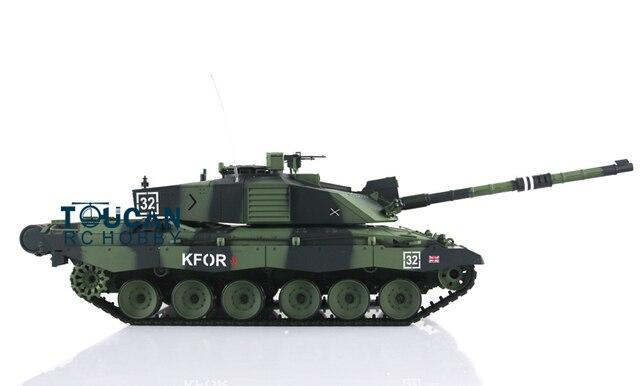 9e59c578a64d 2.4Ghz Henglong 1 16 Sclae Camo Green British Challenger II Plastic RTR RC  Tank Model 3908
