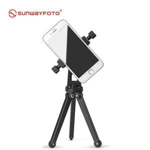 Image 5 - SUNWAYFOTO CPC 01 携帯電話アクセサリー専門のデスクとスタンドプロ三脚電話ホルダーブラケット