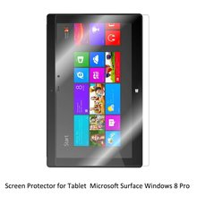 Clear LCD PET Movie Anti-Scratch/ Anti-Bubble / Contact Responsive Display screen Protector for Microsoft Home windows Floor RT/Professional/Pro2