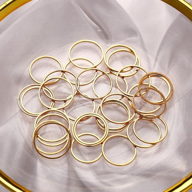 IF ME 30pcs/set Vintage Punk Gold Ring Set for Women Men Fashion Retro Antique Finger Ring Fashion Party Jewelry Lot 2019 NEW