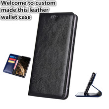 ZD01 Genuine Leather Wallet Case For OnePlus 7 Pro(6.67′) Flip Case For OnePlus 7 Pro Phone Bag with Card Slots Free Shipping
