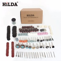 HILDA 248PCS Rotary Tool Accessories Kit For Easy Cutting Grinding Sanding Carving And Polishing Tool Combination