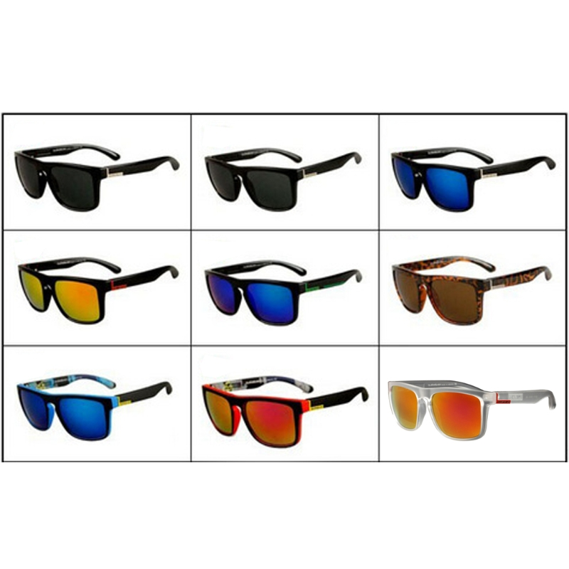 NoEnName_Null Fashion Square Frame Sunglassesfor Men Driving Outdoor Sports Fishing Eyew ...