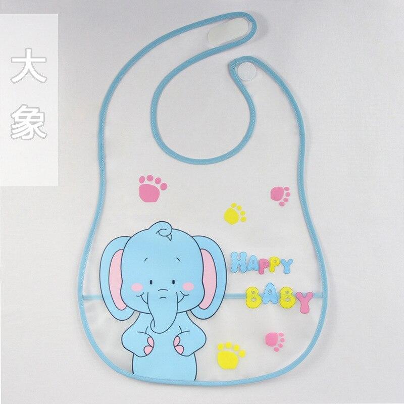 Bavaglini Usa E Getta.Us 1 39 10 Off Baby Eva Waterproof Disposable Bibs Cartoon Pattern Transparent Boys Girls Infants Soft Bibs Burp Clothes Baby Food Clothing In Bibs