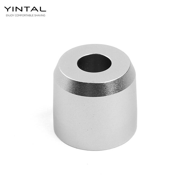 YINTAL Adjustable Safety Razor Base Dual Edge Classic Razor Base Shaving Accessories Oxidation Scrub Surface(Only Base No Razor)