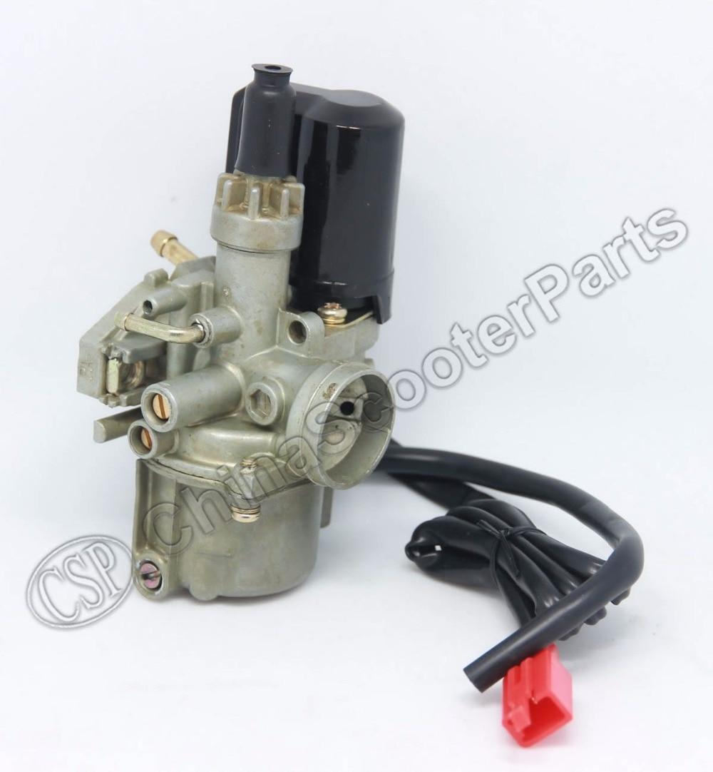 17mm Carb Carburetor For Honda 2 Stroke 50cc Dio 50 18 27 28 SA50 SK50 SYM DD50 SP ZX34 35 Kymco Scooter