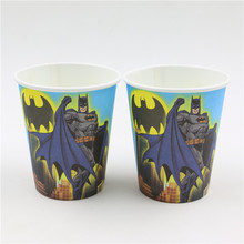 Cups with Batman Pattern 12 pcs/lot