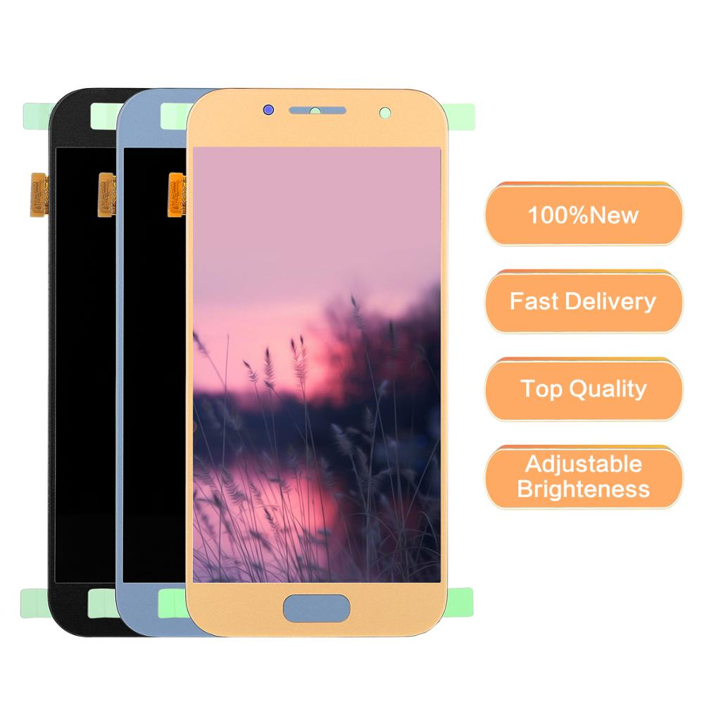100% Tested Working <font><b>LCD</b></font> For Samsung Galaxy A3 2017 display <font><b>A320</b></font> SM-A320M A320F A320Y <font><b>LCD</b></font> Display+Touch Screen Digitizer Assembly image