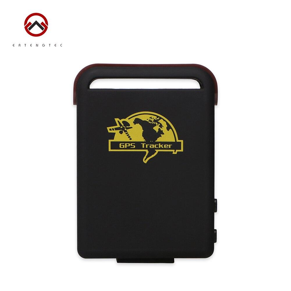Mini GPS Tracker Personal GSM Locator Car Tracking Device XEXUN TK102-2 SIRF4 Quad Band Standby 120h SD Slot Free Web Tracking
