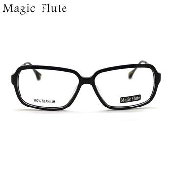 Новое поступление, ацетат С Титановым виском, светильник, оптические оправы, очки, полная оправа для мужчин, модные очки по рецепту