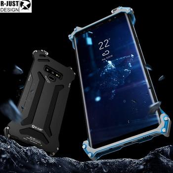 R-JUST Gundam Series Metal Bumper for SAMSUNG Galaxy S8S8 plus S7 Edge S7 Luxury Armor Doom Aluminum Shell Case Phone Housing Тахеометр