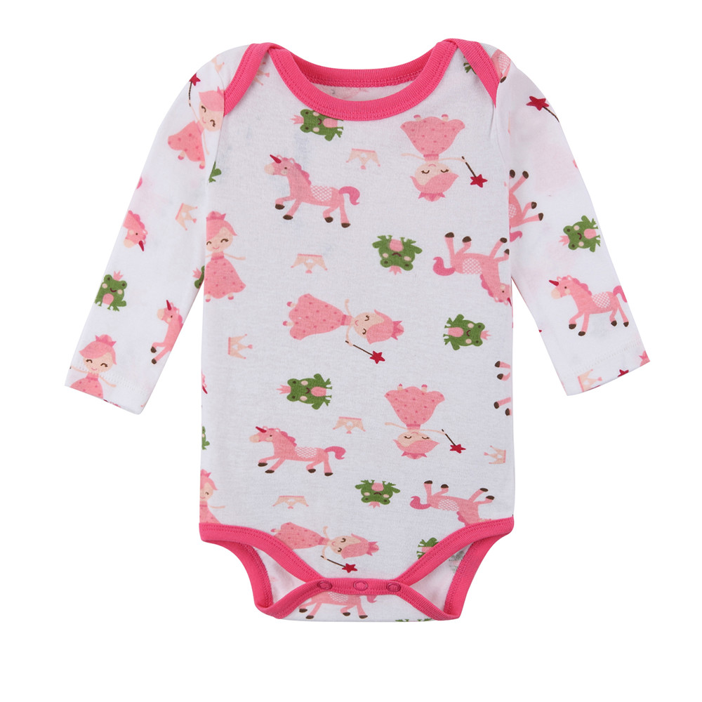 Wholesale 3pieces/lot Newbaby Spring Romper 2017 Pretty Rompers Set Cartoon Cotton Infant Jumpsuit Boys Girls Clothes