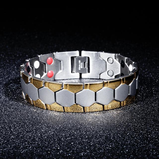 Energy Magnet Health Titanium Bracelet