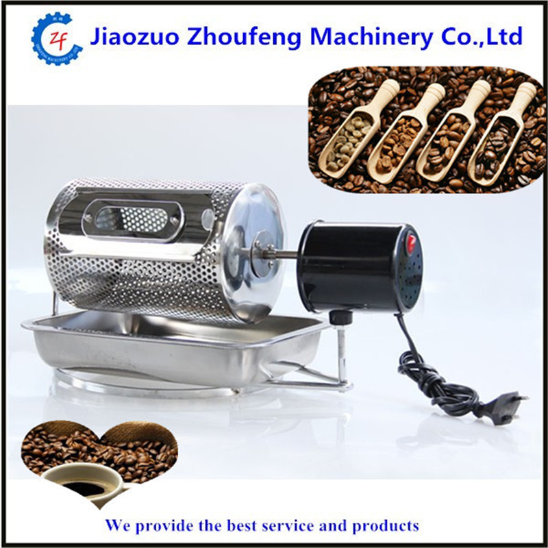 Coffee bean roasting machine household mini stainless steel electric drum type rotation coffee roaster  ZF bear three layers of bean sprouts machine intelligent bean sprout tooth machine dyj b03t1