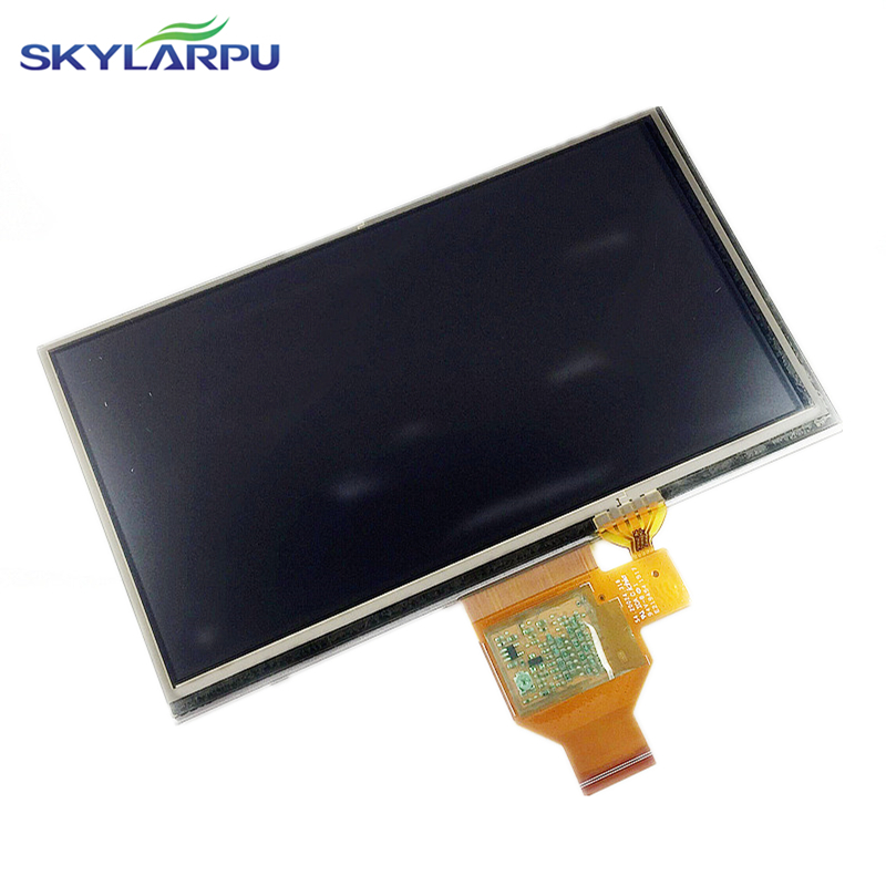 skylarpu 6.0 inch LCD Screen for GARMIN Nuvi 65 65LM 65LMT GPS LCD display Screen with Touch screen digitizer replacement skylarpu new 4 3 inch lcd screen for garmin nuvi 2300 2300t 2300lm 2300lmt gps lcd display screen with touch screen digitizer