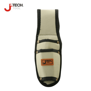Jetech small size durable water proof 2 pocket tool spanner bag holder pouch electricians waist pocket screwdriver carry case