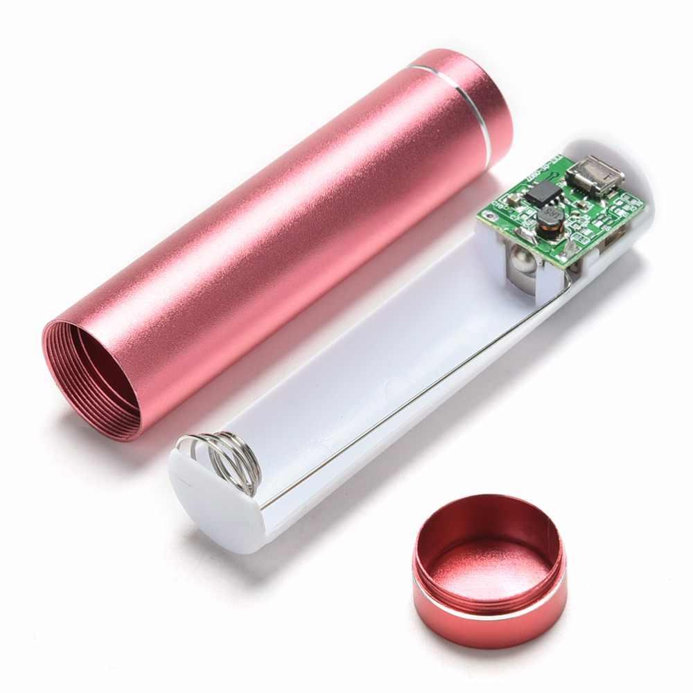 USB портативный блок питания 18650 литий-ионная батарея зарядное устройство пустой корпус для сотового телефона планшета электроники внешний блок питания