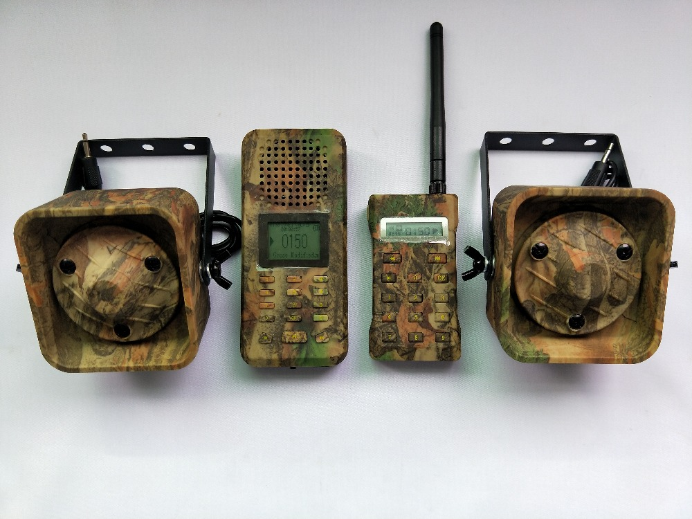 PDDHKK Decoy Goose Duck Predator Wildlife Hunting Decoy Electric MP3 Loud Speaker 200 Sounds Camouflage Remote Controller Kit
