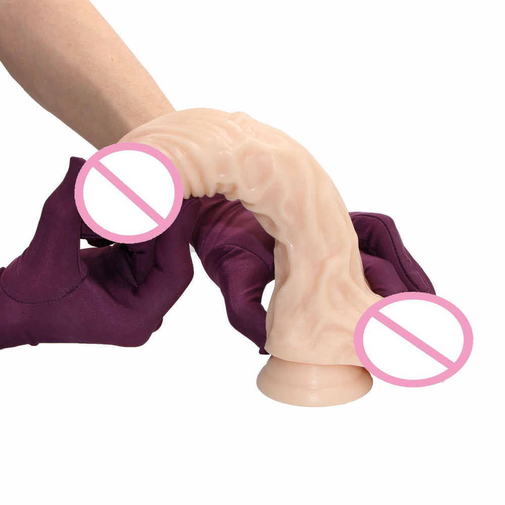 YEMA 9.8 inch Silicone Big Dildo Realistic Penis Dick With Strong Suction Cup Huge Dildos Cock Adult Sex Toys For Woman Sex Shop realistic big dildo penis dick with strong suction cup dildos butt plug prostate g spot female masturbation sex toys for women
