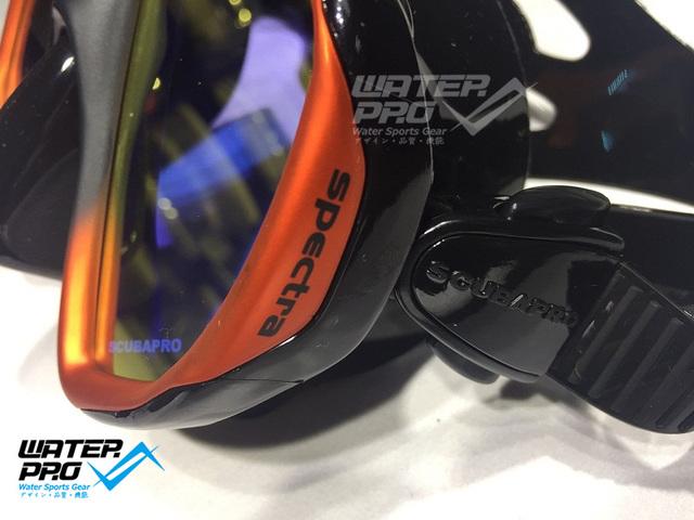 Scubapro SPECTRA Mask Bronze – Mirror Lens limited with Spectra/ PHOENIX 2 Dry Snorkel Mask Set