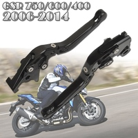 Mayitr Adjustable Motorcycle Aluminum CNC Brake Clutch Levers Folding Extendable For For Suzuki GSR 750 600
