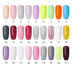 Image 2 - NICOLE DIARY Dipping System Powder Nail Art Dipping Powder Clear Base Top Gel Coat Activator Brush Saver Nail Art Without Lamp