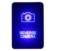 Сделай Сам переключатель 12 В 3amp синий светодиод камера заднего вида кнопочный переключатель для Toyota 2015 Hilux Прадо 150 200 RAV4