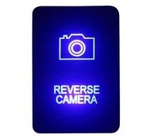 DIY Switch 12V 3Amp Blue LED REVERSE font b CAMERA b font Push Button Switch For