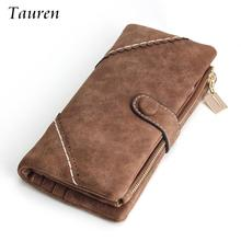 2015 New Women Wallets Coin Case Purse For Phone Card Wallet Leather Ms Frosted Long Vintage Buckles Lace