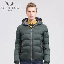 BOSIDENG winter men clothing Thick Warm Winter Down Jacket Waterproof Parkas Hooded Coat radiation-resistant big size b1401037f