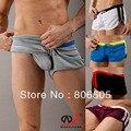 Dos Homens novos Sexy Casual Shorts Domésticos runks tecido de Malha Shorts 5 Cores M L XL Tamanho 7063