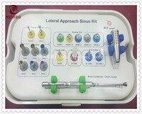 Зубные имплантаты Лифт комплект/зубные имплантации инструменты боковой подход комплект синус/зубной имплантат Лифт сверла