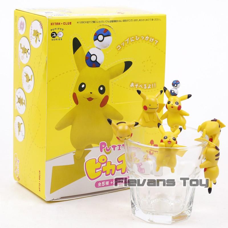 Kitan Club PUTITTO Series Pikachu Mini PVC Cup Figures Toys Dolls Gift 12pcs/setKitan Club PUTITTO Series Pikachu Mini PVC Cup Figures Toys Dolls Gift 12pcs/set